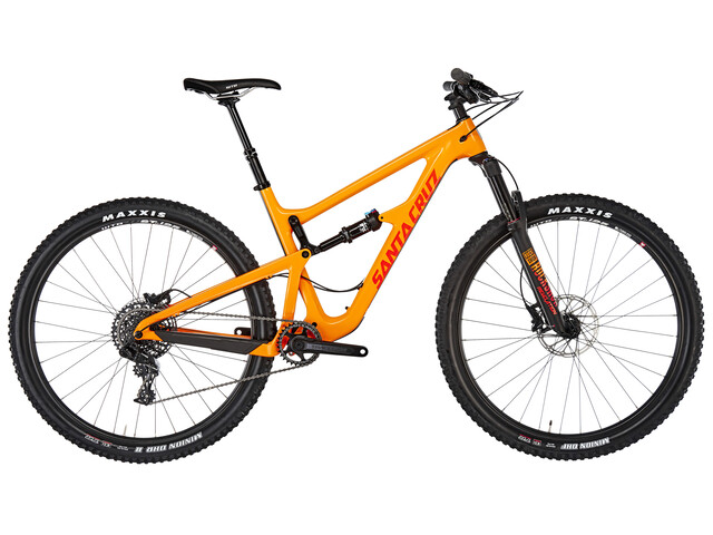 "Santa Cruz Hightower 1 C R-Kit 29"" gloss mango and orange"